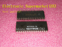 Free Shipping 50pcs/lots W27C010-70 W27C010 DIP-32 100% New original  IC In stock! 50pcs max485cpa dip max485 brand make in china