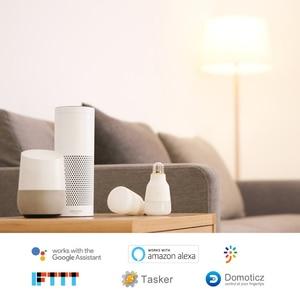 Image 2 - Yeelight スマート led 電球カラフルな白スマート電球用アプリ eu 電球アダプタ