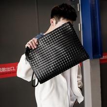 Tidog Weaving fashion hand-made casual clutch bag