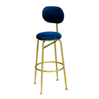Light Luxury Bar Chair Nordic Back Bar Chair Home High Stool Creative Bar Chair Front High Chair