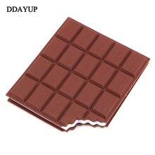 Adesivos de chocolate kawaii criativo adesivo diário nota alta qualidade notebook papeleria material escritório papelaria memorando almofada