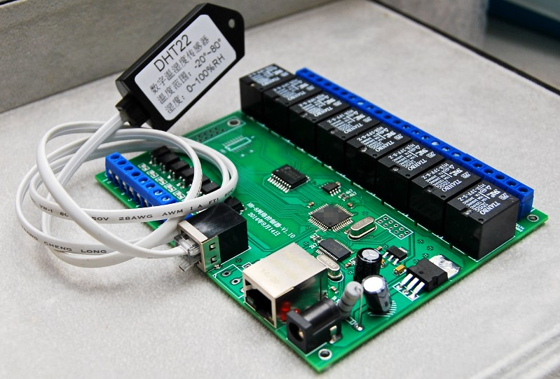 SNMP IP 16 Channel Way Relay Module Board with Ethernet Interface