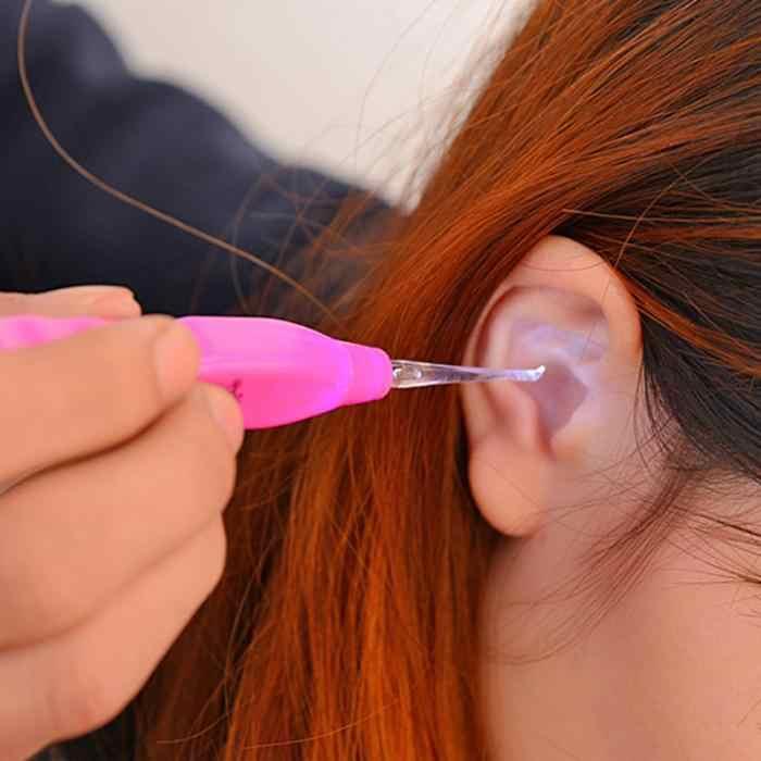 LED ความปลอดภัย EAR Picker EAR Curette EAR Scoop ทำความสะอาดเครื่องมือ Home Health Care เด็ก Earpick Novelty ผลิตภัณฑ์