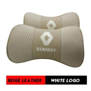 Image 5 - Car Neck Pillow Genuine Leather Seat Head rest Pillows Cushion For Renault BMW Toyota Nissan Volkswagen Mazda Hyundai Honda Kia