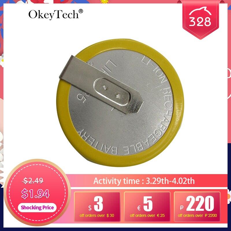 Перезаряжаемый аккумулятор OkeyTech LIR 2025 3,6 В для ключа BMW e46 e39 e36 e38 e34, чехол для ключа дистанционного управления автомобилем, чехол, фирменный А...