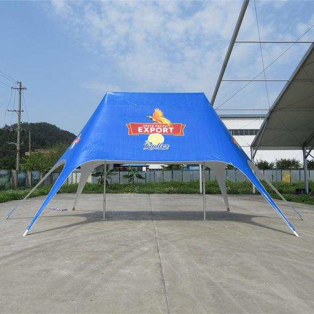 12 x 17m Double Peak Star Tent Advertising Exhibition Display Event Show Promotiom Marquewith Digital Logo Printing on Cover Top
