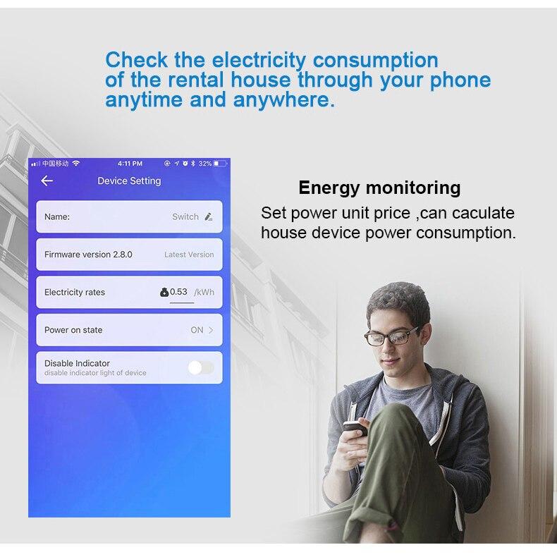 de monitoramento de energia compatível com alexa,