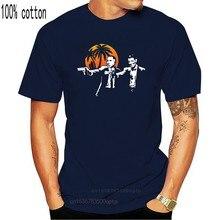 Футболка мужская из хлопка, забавная тенниска для серферов, закат на лето