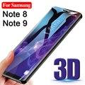 Изогнутое закаленное 3d-стекло для Samsung Note 9 8, защитное стекло, протектор экрана для Galaxy Not 9, 8, Note9, Note8, защитная пленка