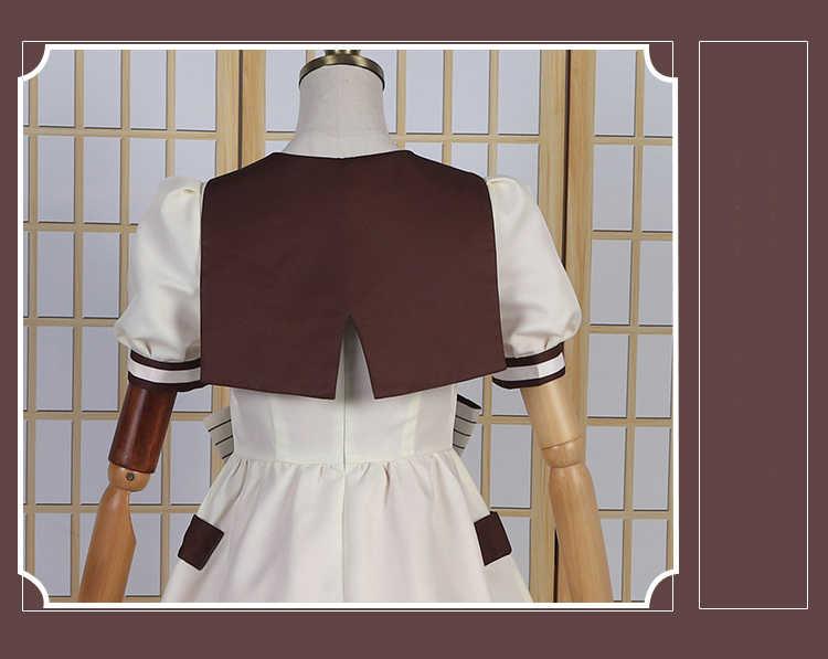 Yashiro Nene Cosplay Kostuum Wc-Gebonden Hanako-Kun Lolita Jurk Jibaku Shounen Hanako-Kun Kostuum Vrouwen Met lange Groene Pruik