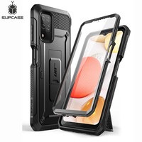 SUPCASE Für Samsung Galaxy A12 Fall (2020 Release) UB Pro Full-Körper Robuste Holster Fall Abdeckung mit Gebaut-in Screen Protector