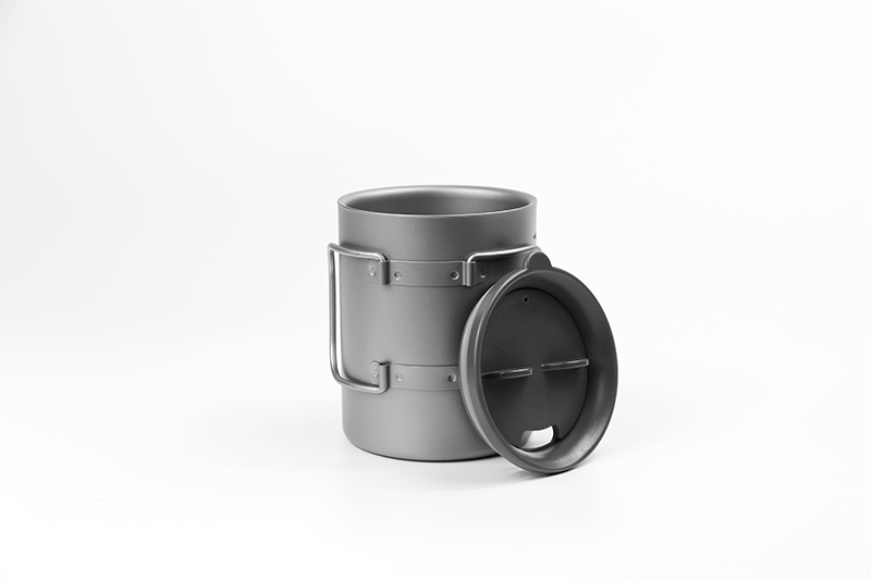Keith Titanium Cup Double wall-Cabo Dobrável Caneca