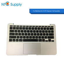 NTC Supply For MacBook Air A1370 2010-2012 Year Topcase Full Assembly topcase+keyboard+touchpad w/ speaker Tested Working