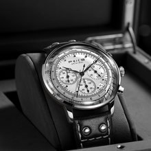 Feice 2020 новый дизайн модные часы с хронографом Мужские Кварцевый