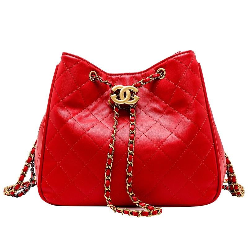 2019 luxury handbags women bags designer in buckets Women Small Messenger Bag Women's Shoulder Bag Bolsa Feminina