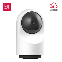 YI 1080P Dome Camera X AI-Based Full HD Two-way Audio Security IP Cam Human/Pet Detection Night Vision Support SD Card/YI Cloud