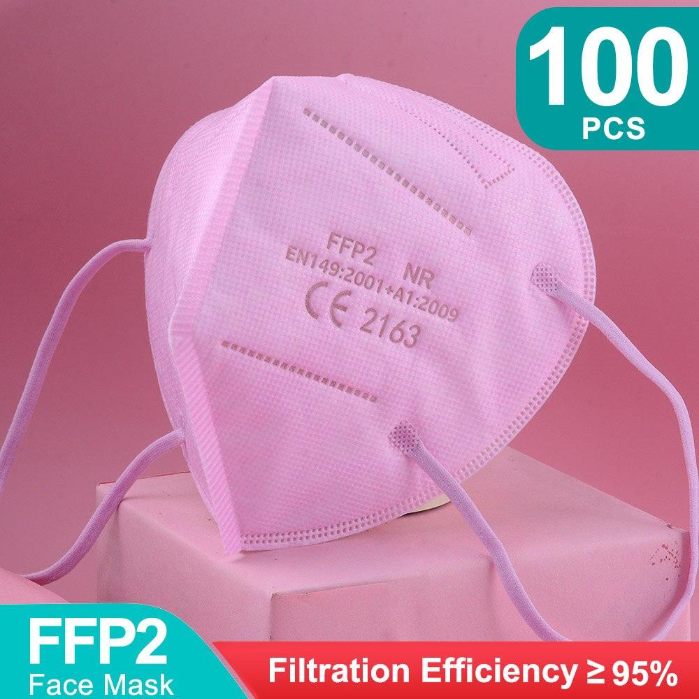 Pink-100pcs