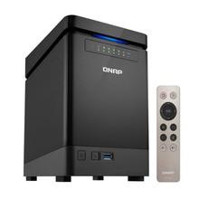 Qnap 4 bay nas TS 453Bmini intel celeron apollo lake j3455 quad core cpu, servidor de armazenamento 8gb ram, sata 6 gb/s