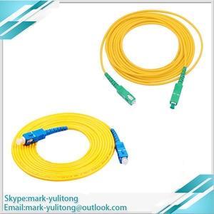 Image 1 - 3 м 5 м 10 м FTTH SC APC Волоконно оптический соединительный кабель SC / APC SC / APC или SC /UPC SC / UPC Волоконно оптический соединительный шнур SC UPC APC