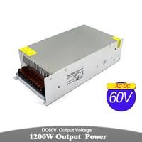 Single Output Power Supply DC 12V 18V 24V 30V 36V 42V 48V 60V 1200W Transformers 220V 110V AC DC SMPS For Light CNC CCTV Stepper