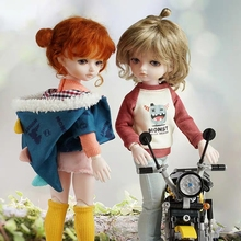 BJD ילדה בובות 30 CM בובה, בובת מתנה