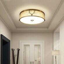 יוקרה חג מולד קרן צבי תקרת אורות חדר שינה LED מנורת רומנטי בית עגול חתונה חדר Creative פסטיבל תאורת גופי