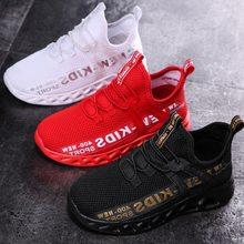 2021 nuove scarpe da ginnastica per bambini in Mesh scarpe per bambini leggere scarpe Casual traspiranti per ragazzi scarpe da ginnastica antiscivolo per ragazze Zapatillas Size26-38