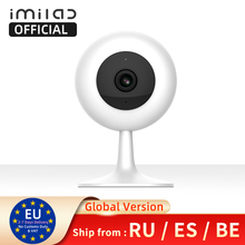 Imversion】global imilab Mijai cámara de seguridad IP cámara inalámbrica Wifi Camara cámara CCTV visión nocturna IR Cámara bebé Monitor 720P