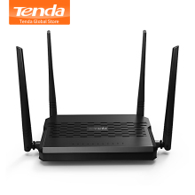 Tenda D305 ADSL2+ Modem WiFi Router 300Mbps Fast Wireless Router with USB2.0/ External PA Antennas, Compatible with Global ISP