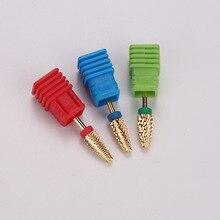 Nail-Drill-Bit Cuticule Ongle Milling-Cutter Nail-Accessories Pedicure Electric Tungsten
