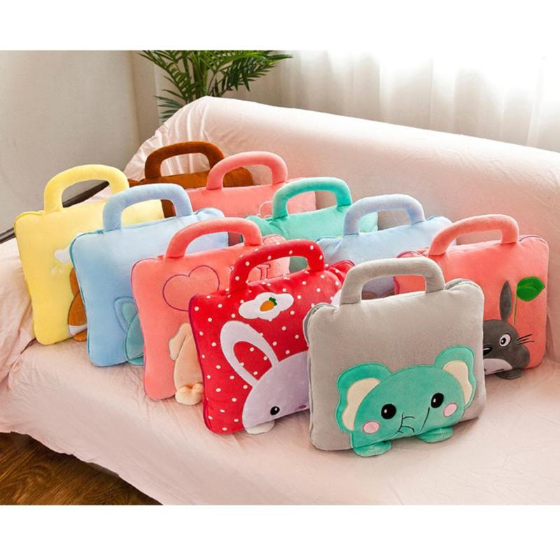 Baby Blankets Kids Pillows Cute Multifunction Nap Pillow Baby Quilt Office Air-Conditioner Blanket Bedding Props