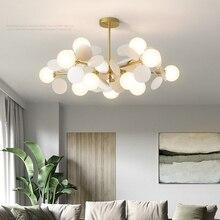 Wohnzimmer kronleuchter Nordic beleuchtung design persönlichkeit kreative restaurant lampe villa duplex kronleuchter hause beleuchtung