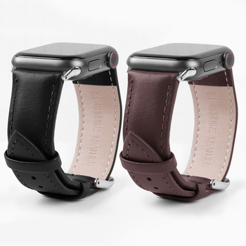 leather loop Band for Apple Watch Series 5 4 3 2 1 Strap for Iwatch 38mm 42mm Bracelet Accessories Wrist for watchband 44mm 40mm