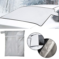 140*90cm Magnetic Car Half Windshield Snow Frost Winter Wind Protector Magnetic Car Shield For All Cars|Car Covers| |  -