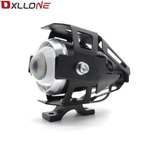 Image 2 - 가와사키 닌자 h2r ZX 6R ZX 6R 몬스터 에너지에 대 한 스포트 테일 램프 안개 빛을 운전하는 범용 12 v 오토바이 금속 led 미등