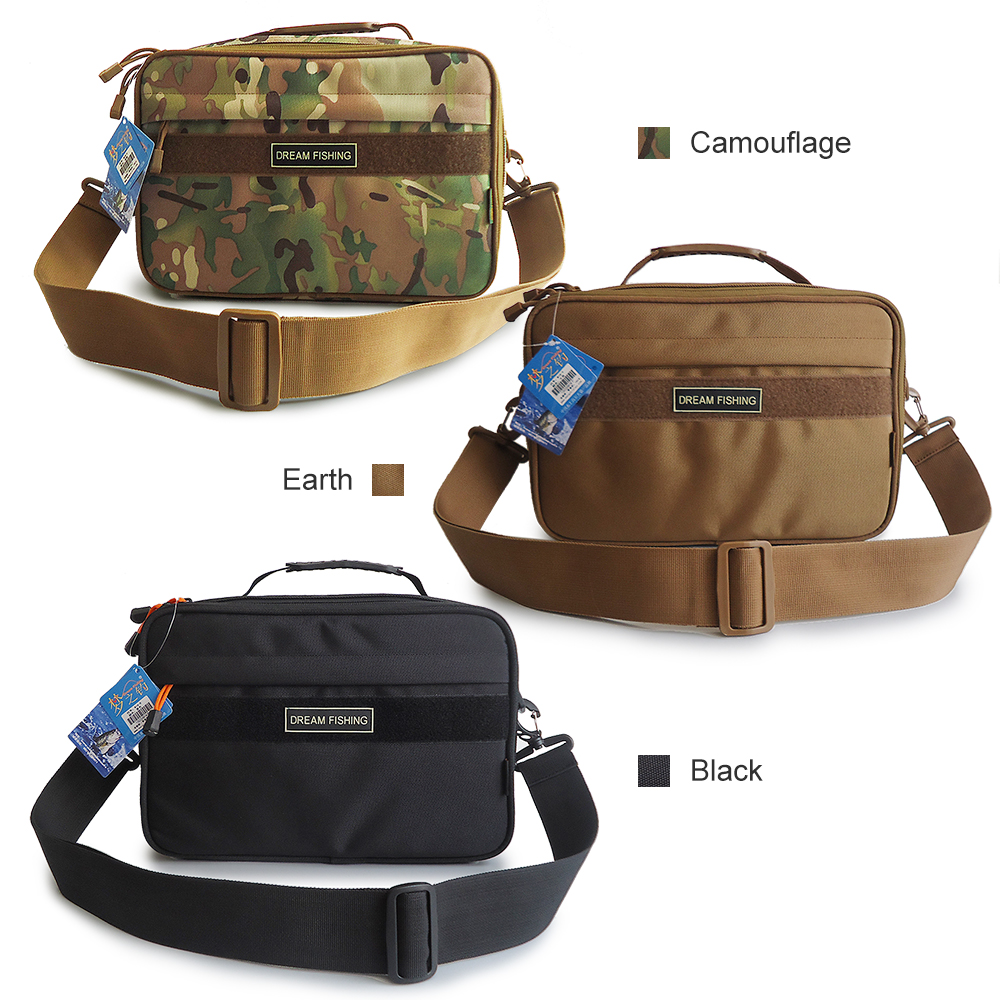 Portable Fishing Reel Pocket Fishing Tackle Pouch Outdoor Fishing Storage Bag