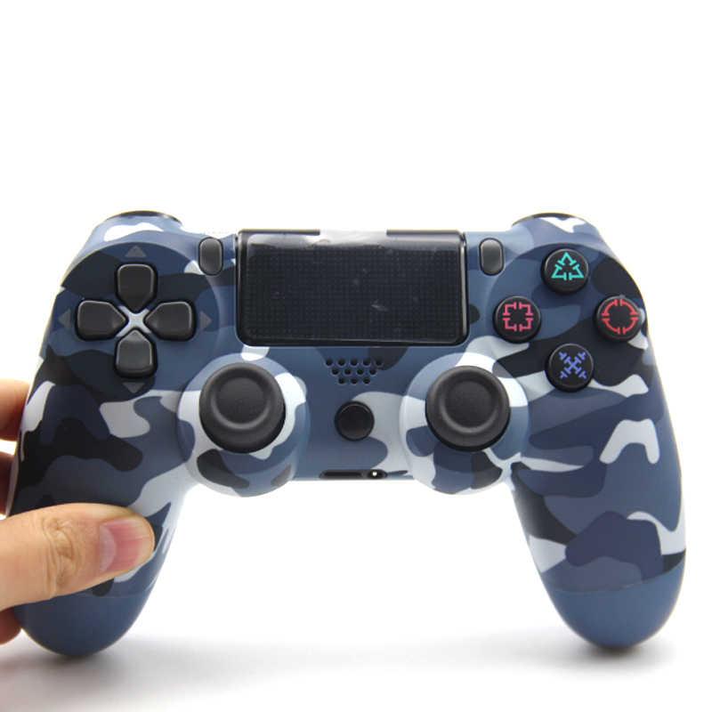 Untuk Wireless Gamepad Controller untuk PlayStation DualShock PS4 4 Bluetooth Joystick Gamepad untuk PS4/PS4 Pro Silm PS3 PC permainan
