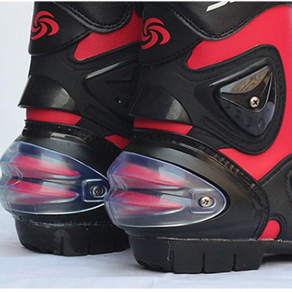 Motorrad Racing Stiefel Motorrad Radfahren Sport Anti-skid Schuhe Magie Ankle Einstellung 3 Farben
