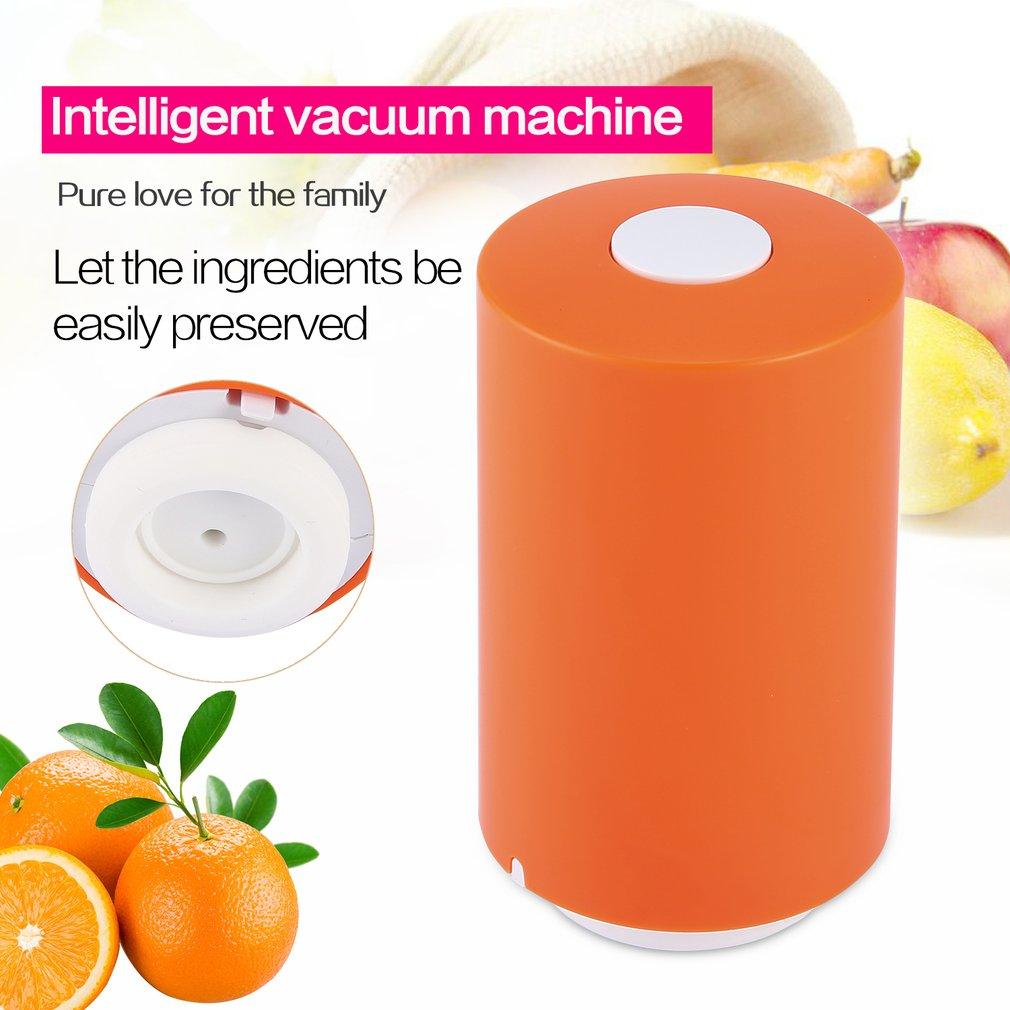 Mini Portable Vacuum Sealer Machine Electric Food Vacuum Saver Vacuum Packaging Machine Rechargeable Vacuum Pump