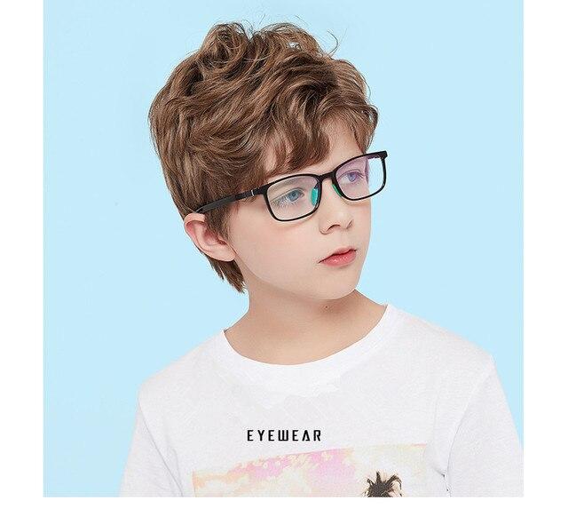 Очки с защитой от сисветильник Молодежные для подростков квадратные