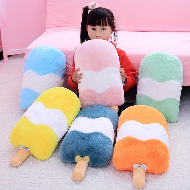 Kawaii Ice Cream Plush Cushion (50cm)