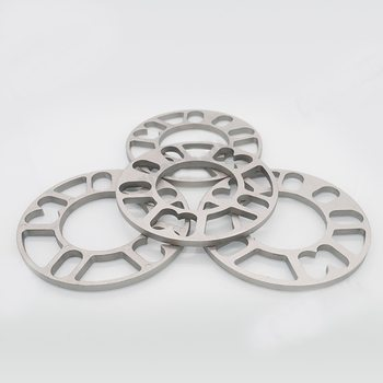 3/5/8/10mm car gasket wheel hub gasket thickened gasket tire gasket Auto Car Wheel Tire Spacers Adaptor Shims Plate For Car image