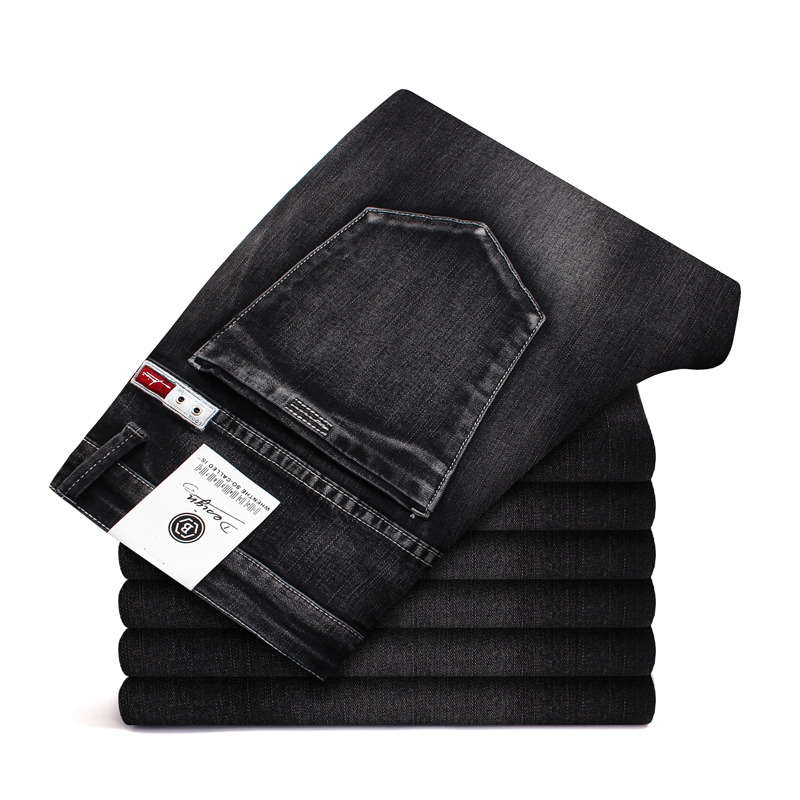 2020 Brand Men Skinny Jeans  New Elastic Slim Trousers Jean Male Fashion Casual Denim Pants Black  Plus Size 40 42 44 46