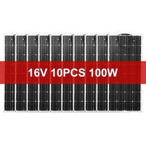 Image 2 - Dokio 12 فولت 1000 واط مرنة لوحة طاقة شمسية لوحة شمسية أحادية لوحة طاقة شمسية للسيارة/قارب/شحن المنزل 16 فولت/18 فولت لوح طاقة شمسية مضاد للمياه لوحة طاقة شمسية الصين
