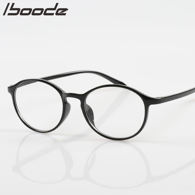 IBOODE Retro Round Frame Reading Glasses For Women Men Unisex  Presbyopic Eyeglasses Eyewear With Diopter +1.0 1.5 2.0 2.5 3.0