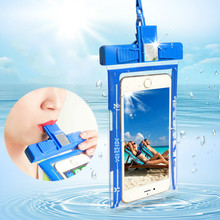 Outdoor Dedicated Mobile Phone Waterproof Bag Swimming Diving Suit Sealed Protective Cover TPU