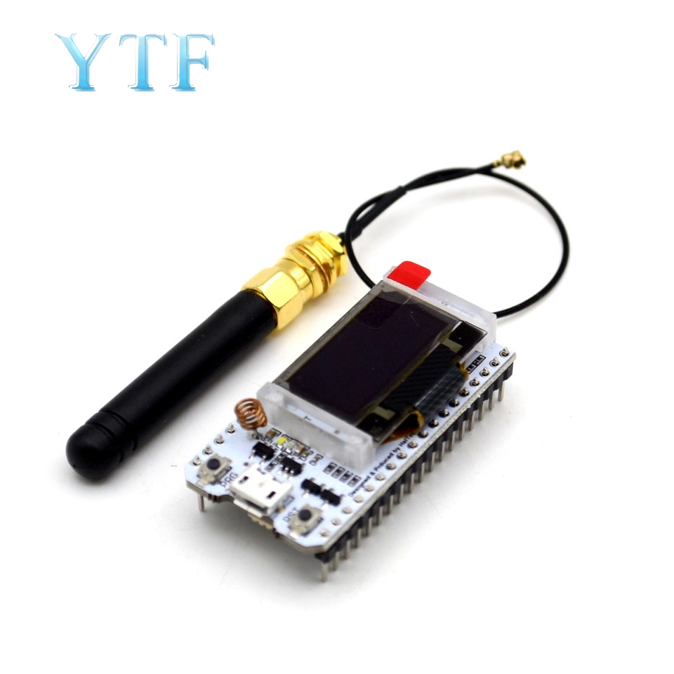 868MHz/915MHz LoRa ESP32 Oled Wifi SX1276 Module IOT With Antenna Electronic Diy Kit Pcb New Version For Arduino