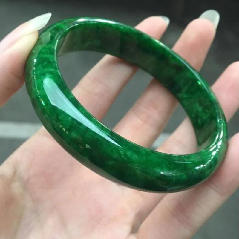 jade bangle size 57 natural burma jadeite 2 14