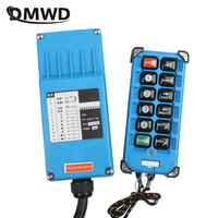 F21 E2B 8 industrial remote controller switches 10 Channels keys Direction button Hoist Crane Truck Radio Remote Control System
