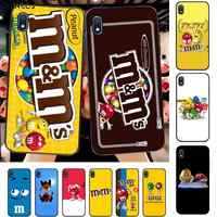 FHNBLJ M&M's Chocolate Nutella Bottle Mobile Phone Case Hull for Samsung A10 20s 71 51 10 s 20 30 40 50 70 80 91 A30s 11 31